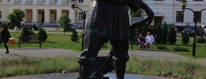 Памятник тамбовскому мужику is one of Липекцк-Тамбов-Воронеж.