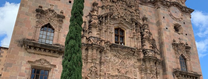 templo valenciana is one of Guanajuato.