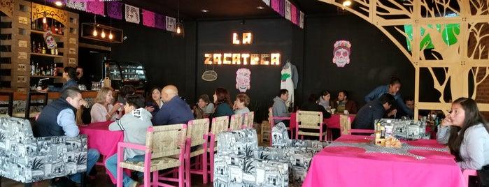 La Zacateca is one of สถานที่ที่บันทึกไว้ของ Thania.