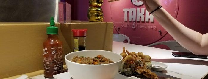 Taka Sushi & Cevicheria is one of ASIATICA.