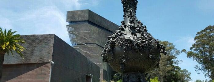 de Young Museum is one of SF Bucket List.