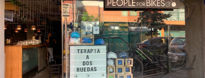 People For Bikes is one of CDMX.