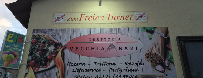 Trattoria Vecchia Bari is one of HD Places-To-Be.