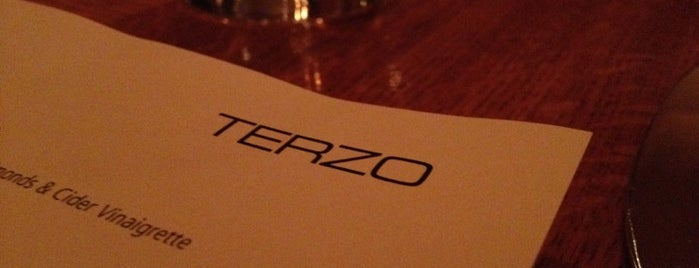 Terzo is one of 7x7 Big Eat SF 2013.