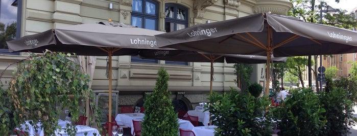 Lohninger is one of Frankfurt Restaurant.