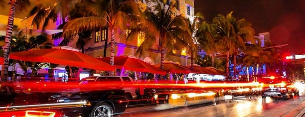 Ocean Drive is one of Guide to Miami Beach's best spots.