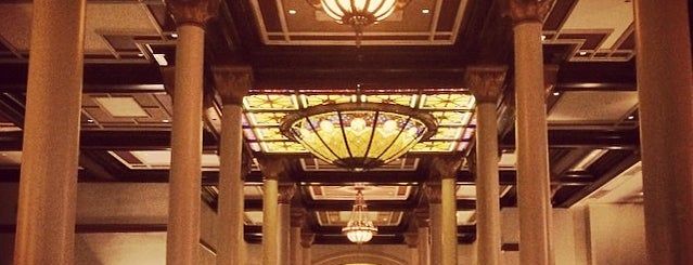 The Driskill Bar is one of Venues for the Vintage Cocktail Club.