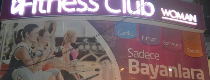 Fitness Club is one of Lugares favoritos de Sultan  Melike.