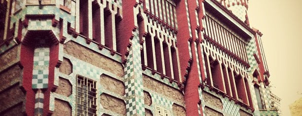Casa Vicens is one of Museus i monuments de Barcelona (gratis, o quasi).