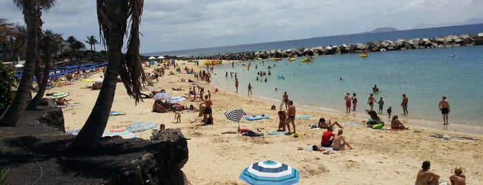 Playa Flamingo is one of Lanzarote, Spain.