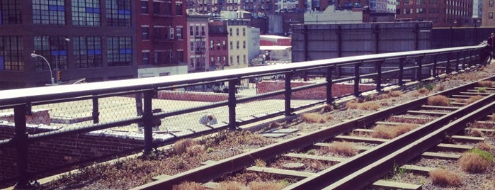 High Line is one of Manhattan Favorites.