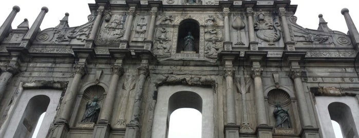 Ruins of St. Paul's is one of My Hong Kong Holiday.