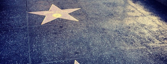 Hollywood Walk of Fame is one of Historic Route 66.