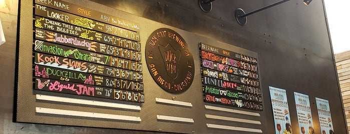 Duck Foot Brewing Company is one of San Diego Breweries.