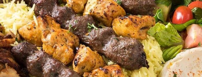 Jerusalem Shawarma is one of Locais curtidos por Dennis.