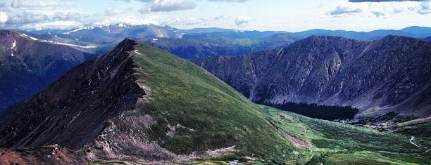 Grays Peak Summit is one of 14ers.