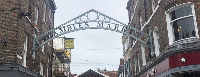 Shambles Market is one of Jessica'nın Beğendiği Mekanlar.