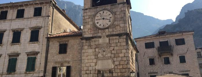Trg od oružja is one of Kotor.