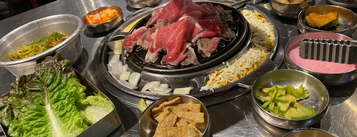 Daebak Korean BBQ is one of Jared's Liked Places.