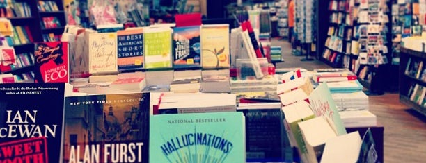 Brookline Booksmith is one of Boston.