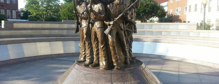 African American Civil War Memorial is one of Free Museums to visit in DC.