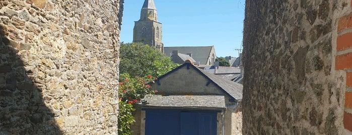 Saint-Suliac is one of Les plus beaux villages de France.