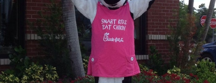 Chick-fil-A is one of great place to eat.