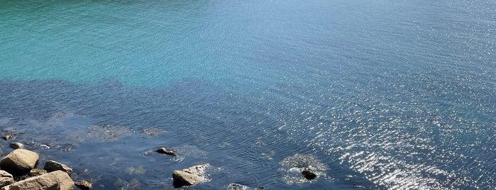 Lamorna Cove is one of Penzance og St. Ives.