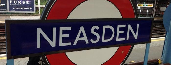 Neasden London Underground Station is one of Underground Stations in London.