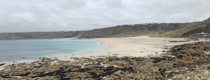 Sennen Cove Harbour Beach is one of Tupshole.