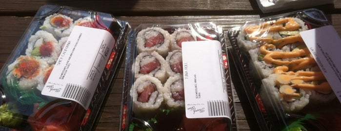 Sushi-A-Go-Go is one of Sushi places.