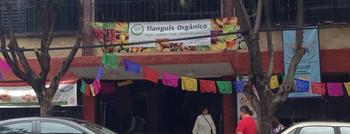 Tianguis Orgánico Bosque de Agua is one of Lugares guardados de Aline.