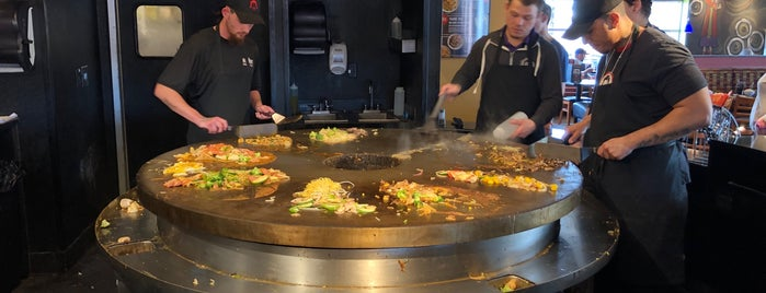 HuHot Mongolian Grill is one of Katherine : понравившиеся места.