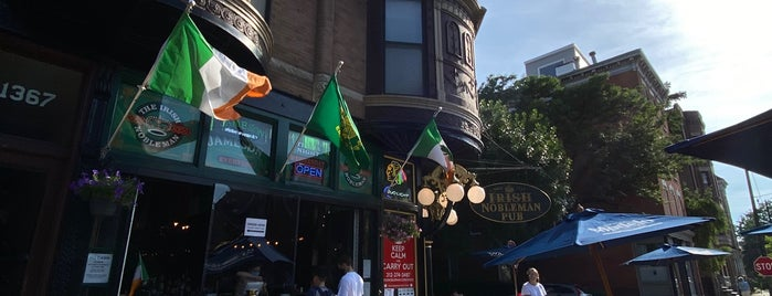 The Irish Nobleman is one of Chicago bars.