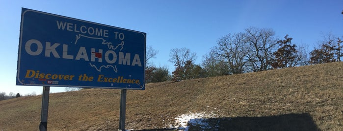 Oklahoma is one of Lugares favoritos de Brett.
