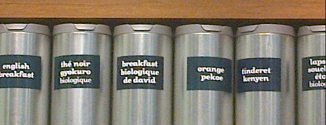 DAVIDsTEA is one of JULIEさんの保存済みスポット.
