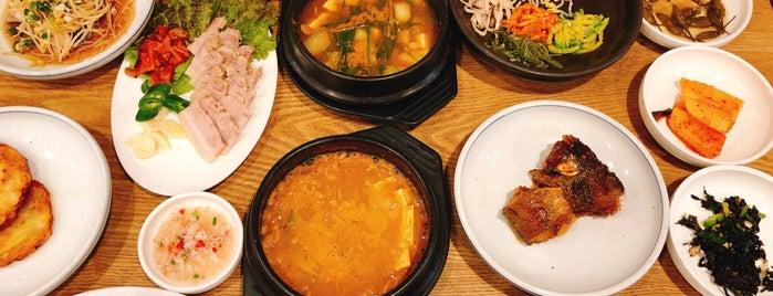 진주청국장 is one of 가본 식당.