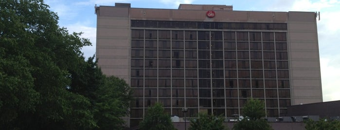 Renaissance Asheville Hotel is one of Trudy's list.