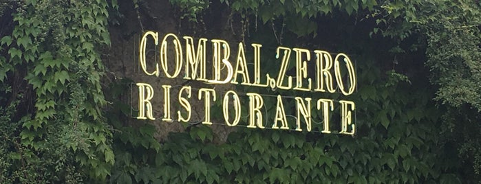 Combal Zero is one of the world's best restaurants.