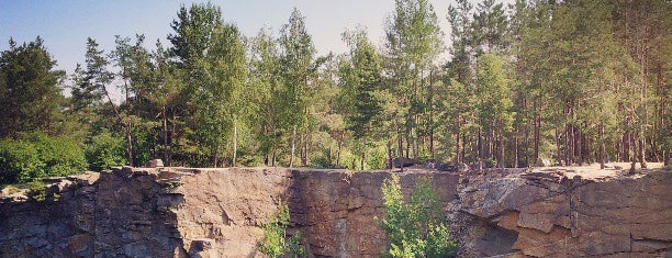 Коростишівський кар'єр is one of Коростышев-Житомир-Бердичев.