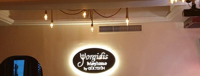 Yorgidis Meyhanesi is one of สถานที่ที่ Pınar ถูกใจ.