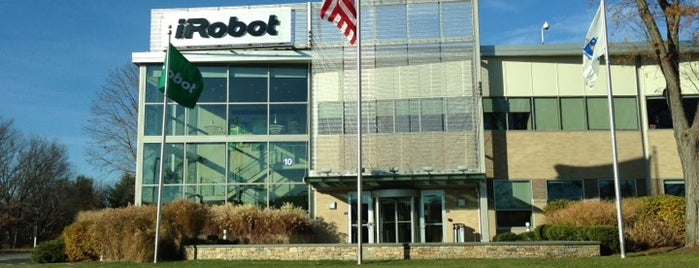 iRobot Corporation is one of สถานที่ที่บันทึกไว้ของ @.