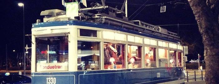 FondueTram is one of Swisstastique.