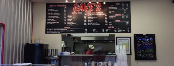 Dave's Burger Barn is one of Waco Food.