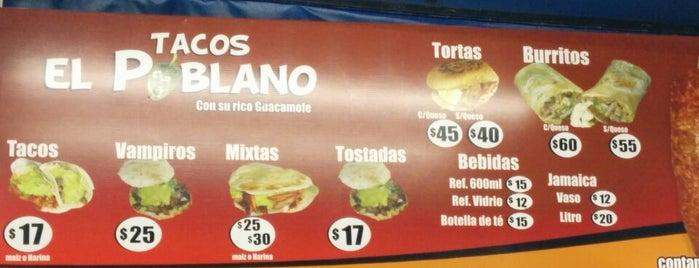 Tacos El Poblano is one of Locais curtidos por Topo Leon.
