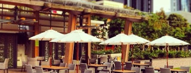 Kelly & Moss is one of HK cafés.