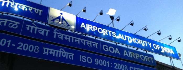 Dabolim Goa International Airport (GOI) is one of Best of GOA, #4sqCities.