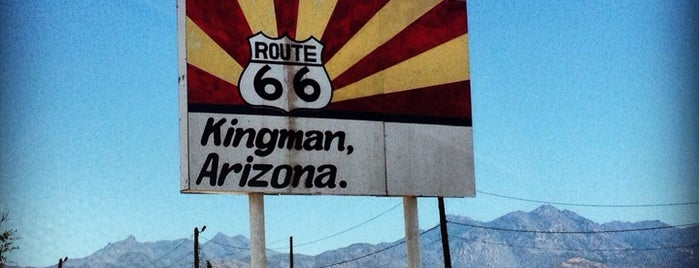 Route 66 is one of สถานที่ที่ Kevin ถูกใจ.