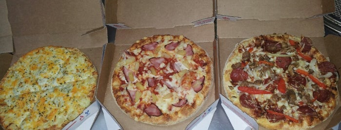 Domino's Pizza is one of Lieux qui ont plu à Илья.