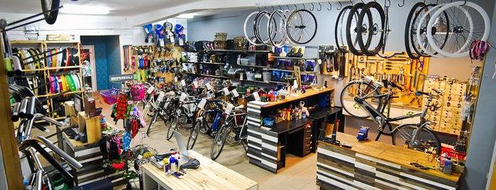 One More Bike Sklep Rowerowy is one of Posti che sono piaciuti a Damian.
